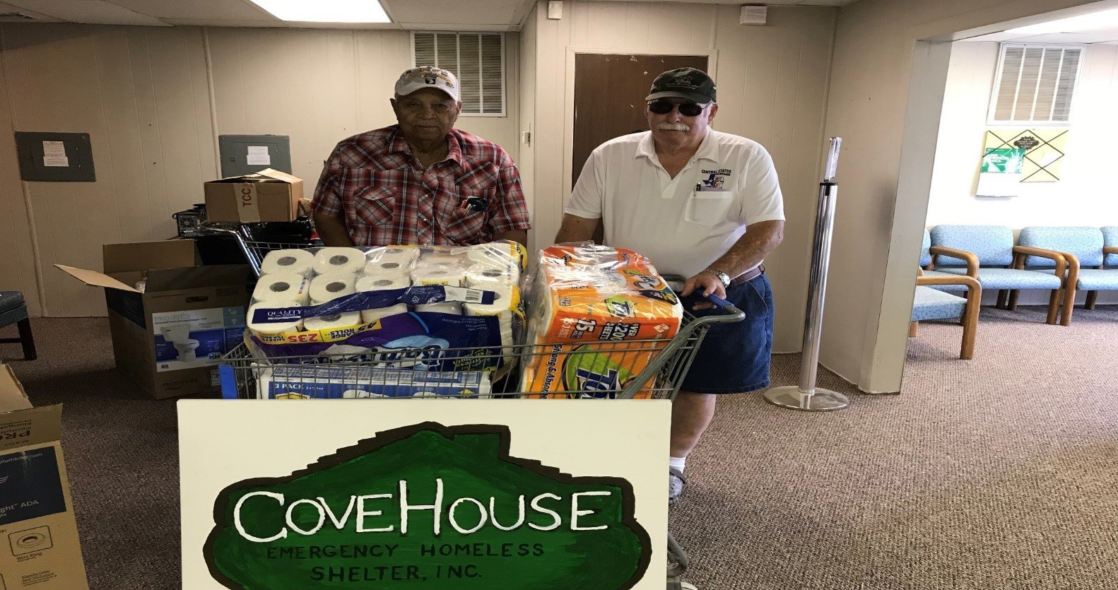 Cove House Donation